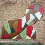 Elsewhere: Recycled Wood Mural by Stefaan De Croock