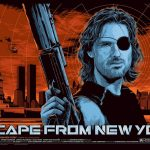 """Escape From New York"" Poster Art by Ken Taylor"