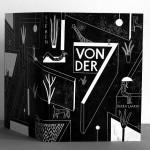 """""""Von Der Sieben"""":  Lino Printed Book by Riikka Laakso"""