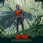 """Ant-Man"" Poster Art by Ken Taylor"