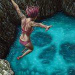 """Death Perception"" Art Print by Casey Weldon"