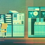 Computers: Digital Illustrations by James Gilleard