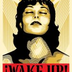 """Wake Up!"" Art Print by Shepard Fairey"