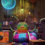 Robots & Friends: Digital Illustrations by Jonathan Ball