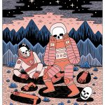 Space Travelers: Illustrations by Jack Teagle
