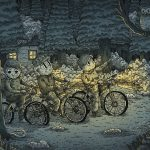 Night Ride: Illustrations by Alessandro Ripane
